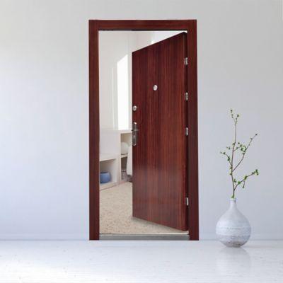 Puerta Seguridad Amberes Doble Cerradura 0.90x2.05 Mts. Ap. Derecha