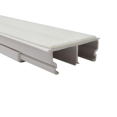 Canaleta 32x12.5 con Adhesivo Blanca