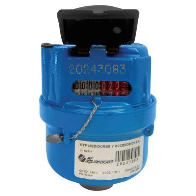 Medidor Agua Volumetrico R200 Mecanico L110mm de 1/2 Pulgadas