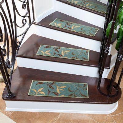 Juego X 13 Tapetes para Escaleras Hojas 66.4X21.5cm