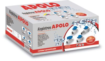 Caja Registro PVC Hembra - Hembra 1/2 Pulgadas x 50 Unidades