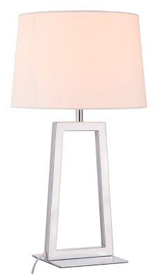 Lámpara Mesa Lulea 1 Luz E27 Bca