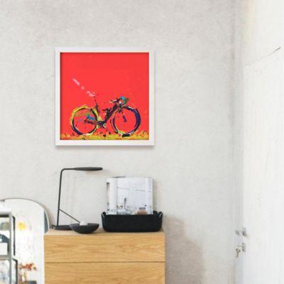 Cuadro Decorativo Bicicleta Roja 59x59x2