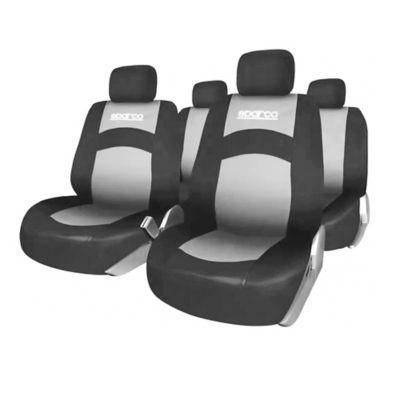 Set Fundas Asiento Auto Negro/Gris SPS402GR