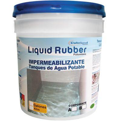Liquid Ruber BicoTarro A 2 Galones + Tarro B 2 Galones