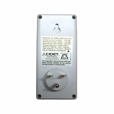 Protector de Voltaje Toma China 4400W- 20a-220V