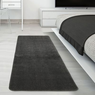 Tapete Area Softy Solido 149x50cm Gris Oscuro