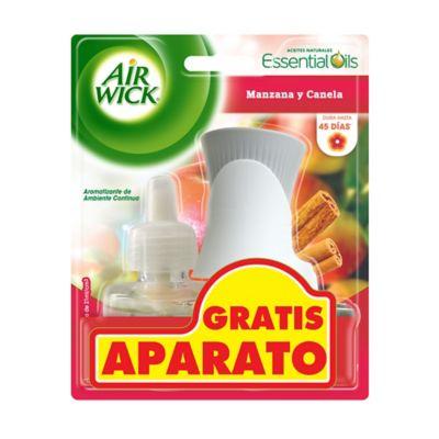 Airwick Electrico Manzana y Canela Gratis Aparato