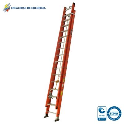 Escalera Tipo 1A Extension Dieléctrica 32 Pasos / 10.0 Mts 136 Kg