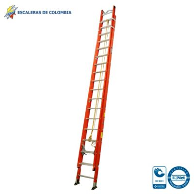 Escalera Tipo 1A Extension Dieléctrica 36 Pasos / 11.0 Mts 136 Kg