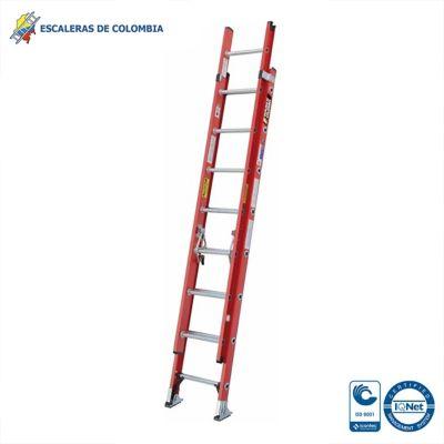 Escalera Tipo 1A Extension Dieléctrica 16 Pasos / 5.0 Mts 136 Kg
