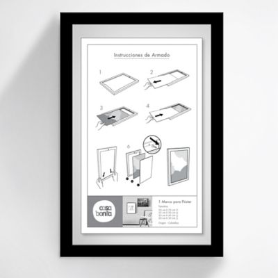 Marco Posters 20x30 cm Negro