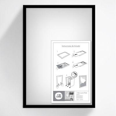 Marco Posters 50x35 cm Negro