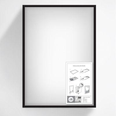 Marco Posters 70x50 cm Negro