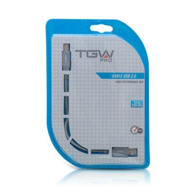 Cable USB 2.0 para Impresora 2.04Metros TGW