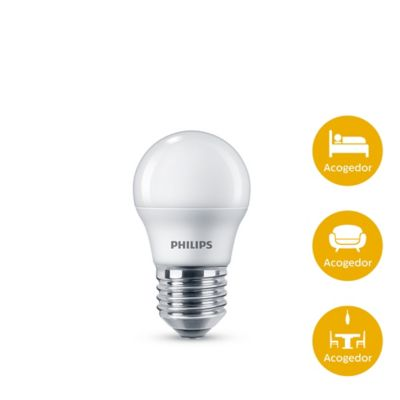 Mini Bulbo Led 4w 350lm Luz Amarilla