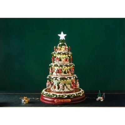 Árbol Carrusel Con Estrella Navidad