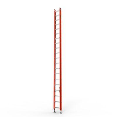 Escalera Extension 40 Pasos en Fibra de Vidrio