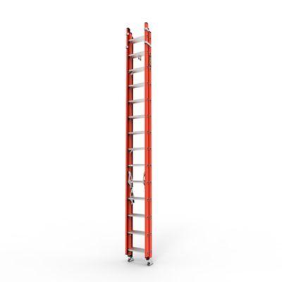 Escalera Extension Triple 42 Pasos en Fibra de Vidrio