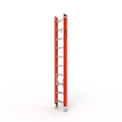 Escalera Extension 20 Pasos en Fibra de Vidrio