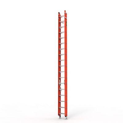 Escalera Extension Triple 54 Pasos en Fibra de Vidrio