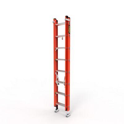 Escalera Extension 16 Pasos en Fibra de Vidrio