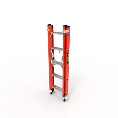 Escalera Extension 10 Pasos en Fibra de Vidrio