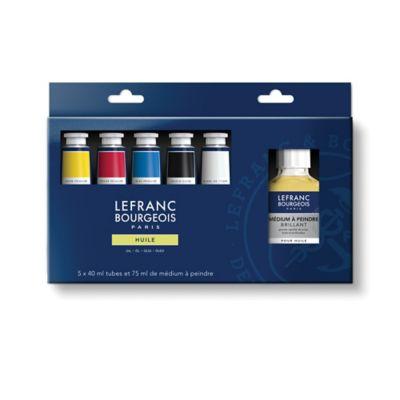Caja Oleo Fine 5 Colores x 40 ml
