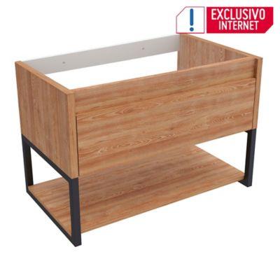 Mueble Lavamanos Flotante Ralf 55x80x46 Miel