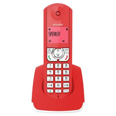 Teléfono inalámbrico a F330R RED/WTH
