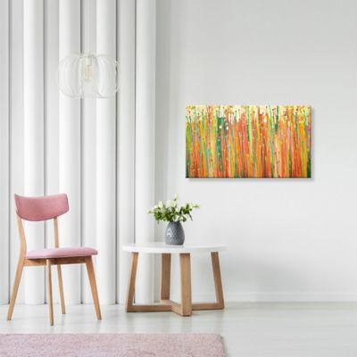 Lienzo Lluvia Colores Ocres Configurable 0-45x0-80cm