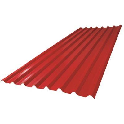 Cubierta Guerrera Roja 1.01 x 6mt 0.30mm Area Útil 6.06m2