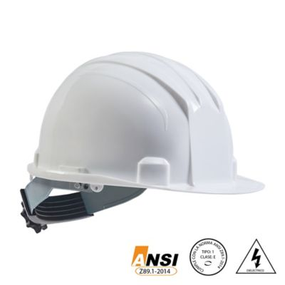 Casco Eco Dielectrico Ratchet Blanco