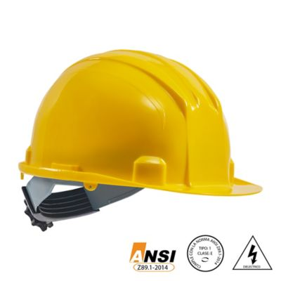 Casco Eco Dielectrico Ratchet Amarillo