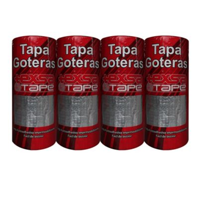 Propack Cinta Tapagoteras Impemeabilizante Texsa Tape 20cm x 5mt x4und