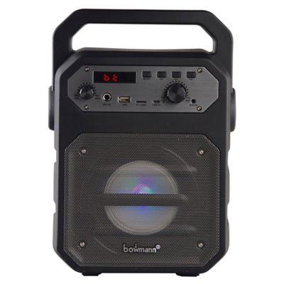 Parlante Portatil Bluetooth Bafle Micrófono Bowmann BTS-250K