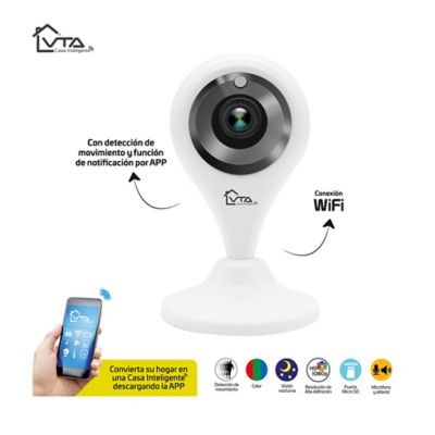 Camara Ip Full HD 1080P con deteccion de Movimiento Wifi