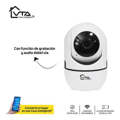 Camara Ip Full HD 1080P con Movimiento Y Audio Doble Via