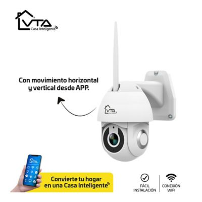 Camara Ip Full HD 1080P con Movimiento Y Audio Doble Via para Exteriores