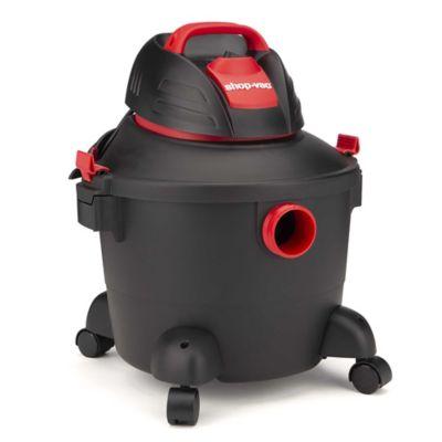 Aspiradora Seco/Húmedo 6.0Gal 3.5Hp Negro