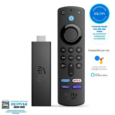 Amazon Fire Tv Stick 4K Voz Alexa-Neg