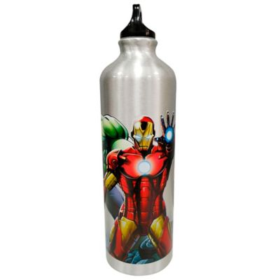 Botella Aluminio 750ml Mv Avengers