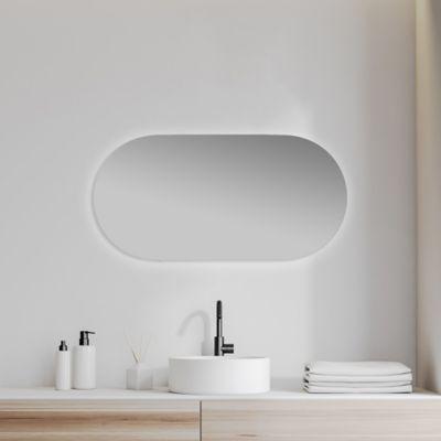 Espejo Para Baño Cross Led 100 x 45 cm