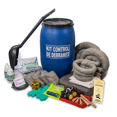 Kit Control de Derrames Universal 60Gl Caneca