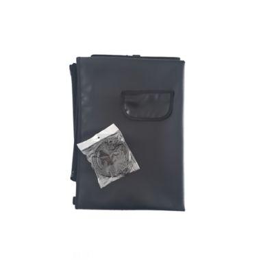 Cobertor Económico + Tazón Plegable Pequeño Negro