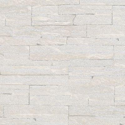 Set x 3 Papel Mural Efecto Roca Gris Claro 100x53 cm