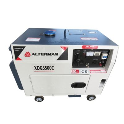 Generador Diesel Cabinado 5.5 KW -120/240V