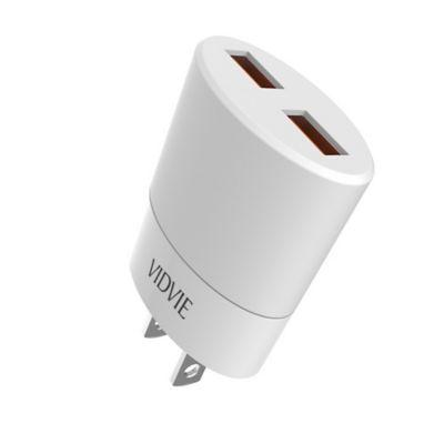 Cargador Pared Iphone 2 Puertos con Cable