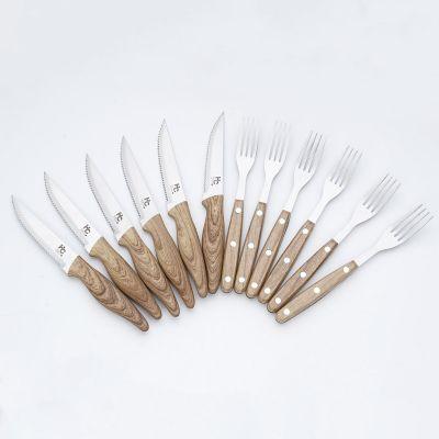 Set Cuchillo Tenedor 12 Piezas