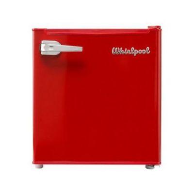 Minibar Frost 48 Lts Acero Inoxidable Rojo Retro WS2109R